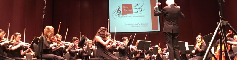 Thanks to New Mexico Music Educators!